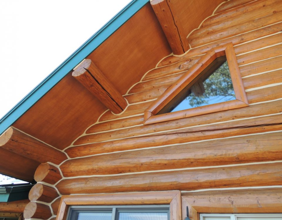 Теплый шов в деревянный дом