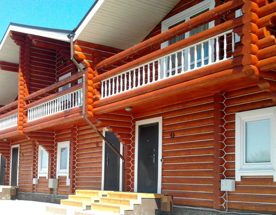 Теплый шов в деревянный дом 4